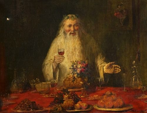 Old Father Christmas,   William Ewart Lockhart