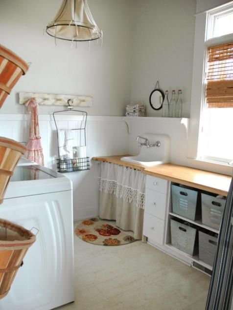 Design Your Own Laundry Room: 10 Chic Laundry Room Decorating Ideas