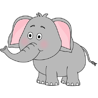 Brown Baby Elephant Clip Art Images All Images Are On A Transparent Background Elephant Images Elephant Clip Art Cartoon Elephant