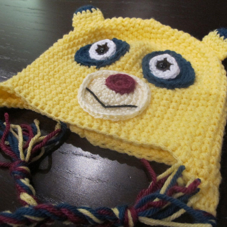 Special Agent Oso Crochet Hat Pattern. $3.99, via Etsy. | hats ...