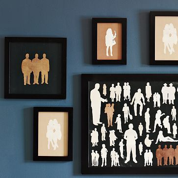 Framed Silhouettes