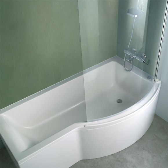 baignoire douche | Salle de bain | Pinterest | Baignoire douche ...