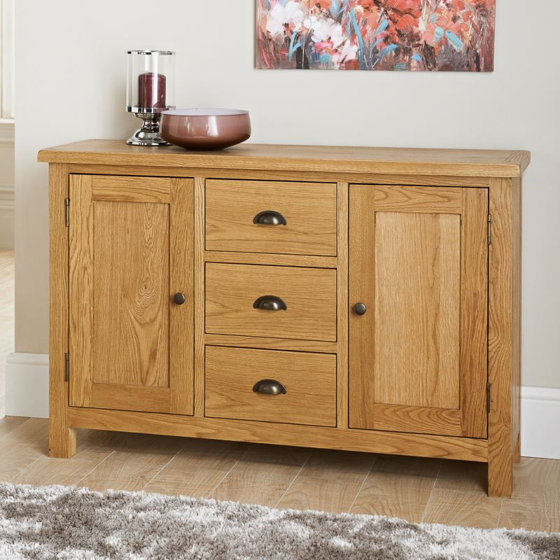 Wiltshire Wide Sideboard Gentle Distressed Look Softly Rounded Corners And A Luxury Hand Wax WaxLiving Room IdeasDining