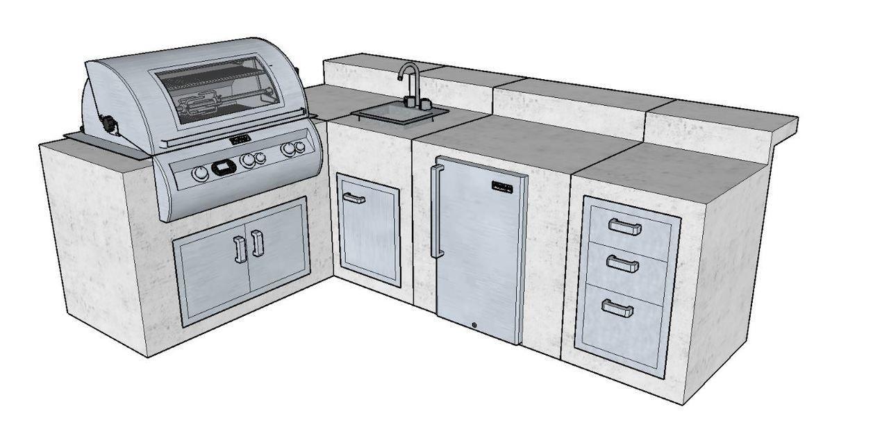 Diy Packages Build Your Own St Louis Building A Deck Outdoor Kitchen Design Diy Deck