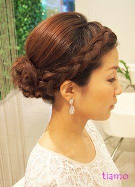 「 ボブの花嫁さま☆アップ~ダウンへ~リハ編~ 」の · 結婚式の髪