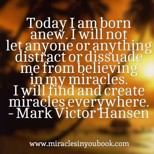 #miracles #quotes #books #markvictorhansen
