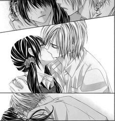 Manga Girls Kissing