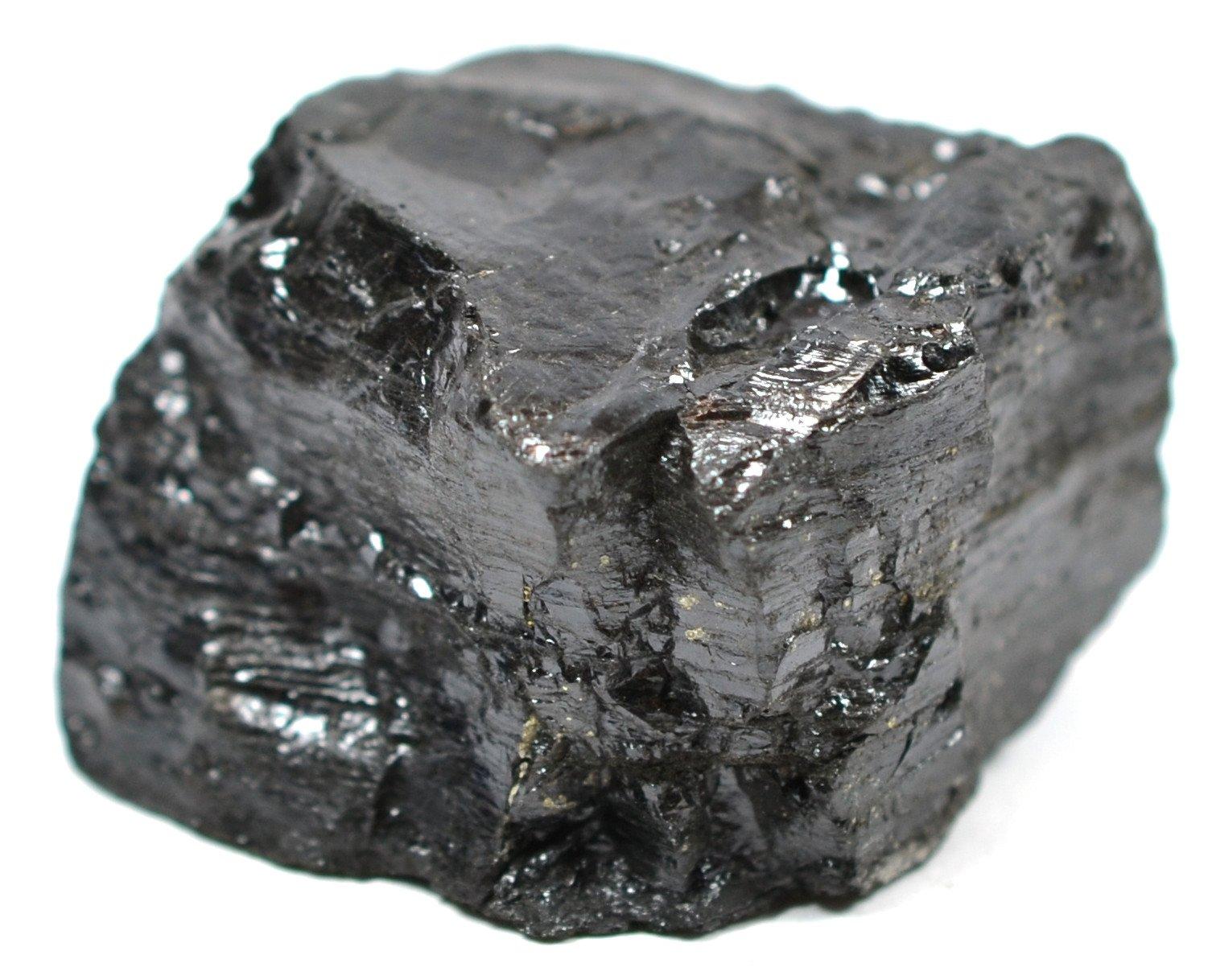 "Eisco Bituminous Coal Specimen (Sedimentary Rock), Approx. 1"" (3cm) #exercisesciencedegreejobs"