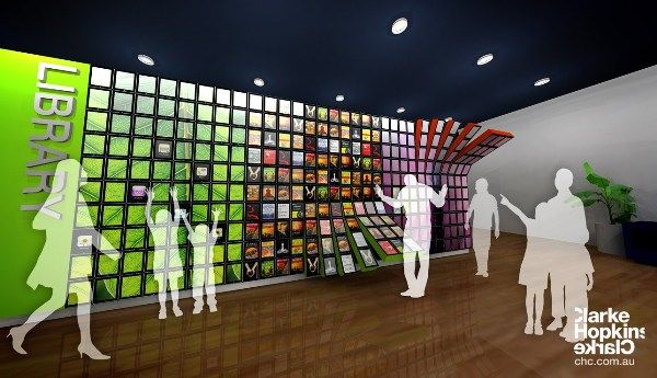 Next Gen Digital Library Could Be An IPad Wall