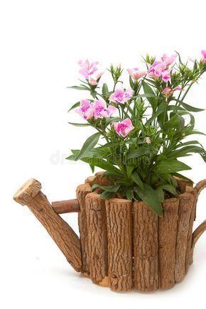 Riciclo legnetti: 15 Fioriere riciclando rami secchi