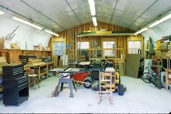 Barn workshop prefab metal buildings workshop pole barns for Layout del garage 30x40
