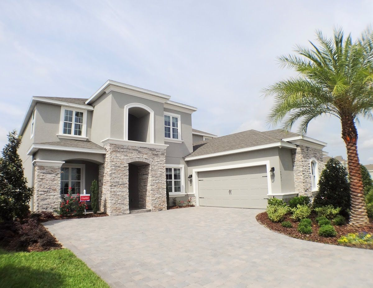 The Overlook At Hamlin By Taylor Morrison Homes Courbet Model Winter Garden New Homes