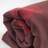 Lenny Lamb Red & Brown Roses 100% cotton