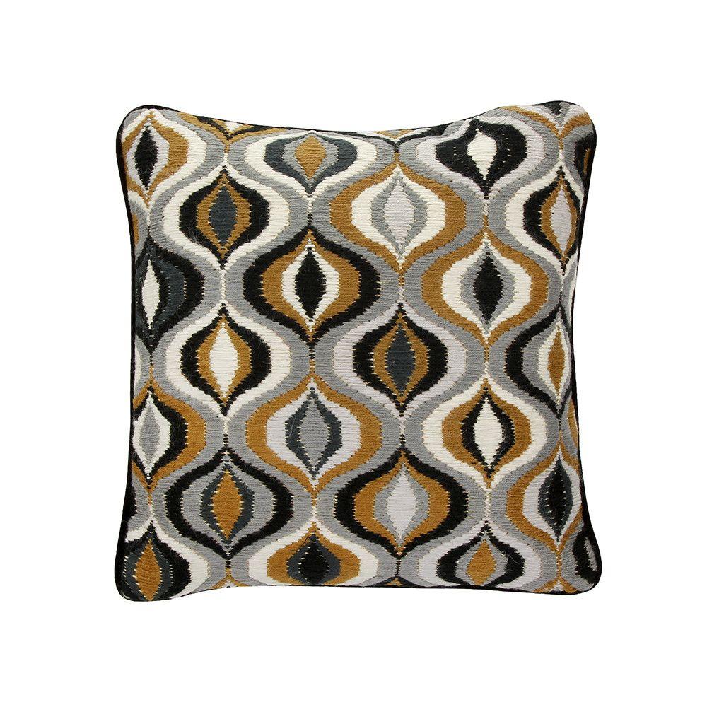 Discover The Jonathan Adler Bargello Waves Cushion 40x40cm