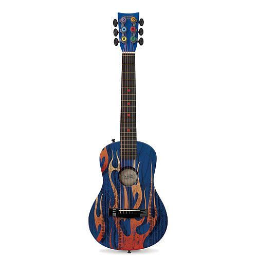 First Act Discovery Designer Acoustic Guitar Blue Fire Tire Guitar Acoustic Guitar Acoustic