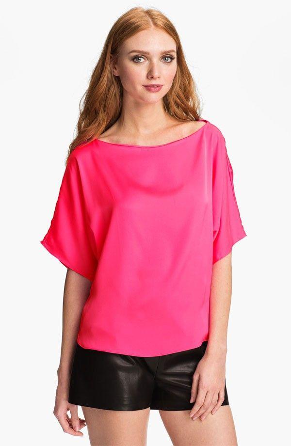 neues modell hals dolman Ärmel bluse-Bluse und Oberbekleidung für ...