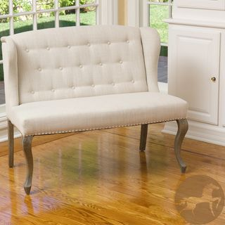 Christopher knight home adrianna fabric loveseat - Best deals on living room furniture ...