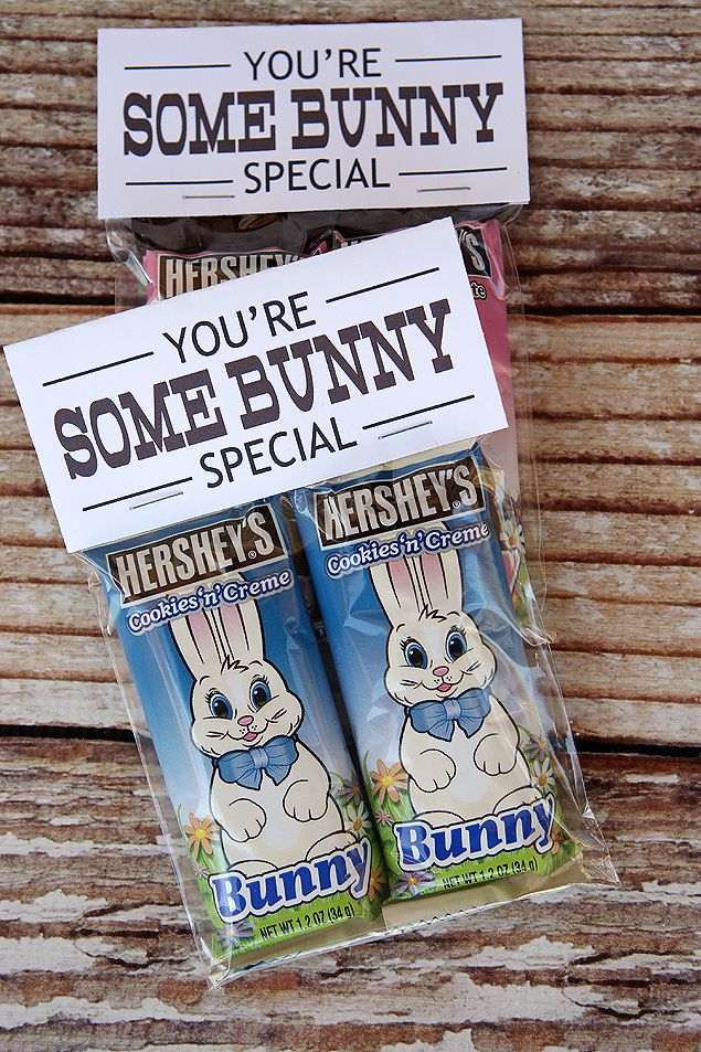 Youre some bunny special easter printables easter bunny and cute free easter printables tag for chocolate bunnies makes a fun gift idea negle Gallery