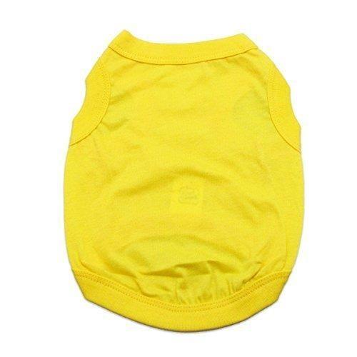 Barking Basics Dog Tank Shirt - Yellow