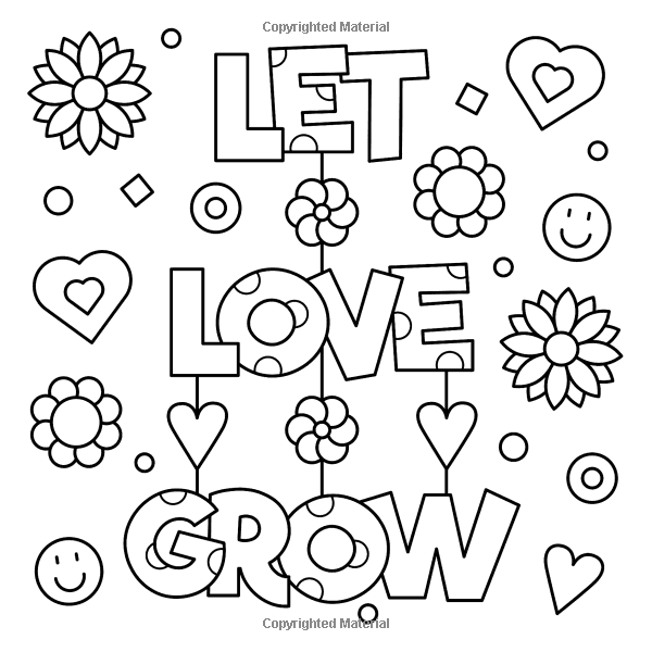 Amazon Com Wild And Free Inspiring Words Coloring Book Cute