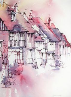 Watercolor Pen N Wash On Pinterest Urban Sketchers Pen And Wash