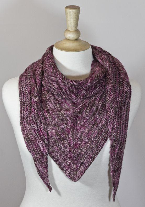 One Skein Sock Yarn Shawl Shawl Knitting Patterns