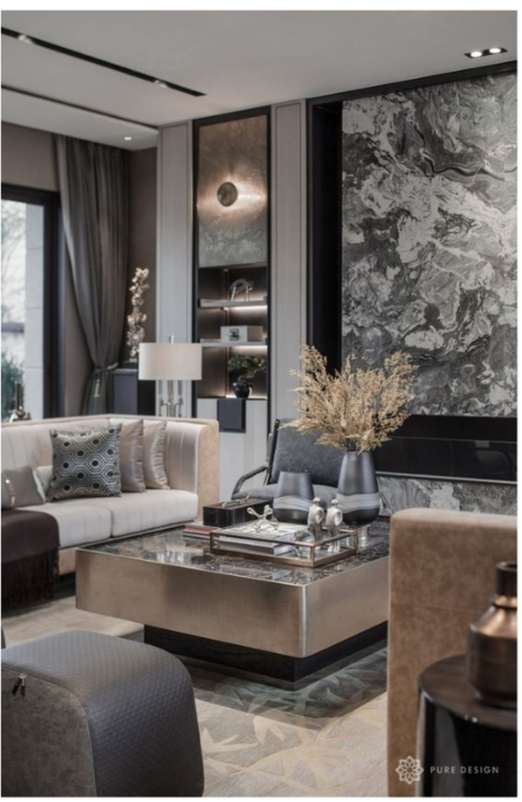 50 Cozy And Elegant Chinese Living Room Decoration Ideas Trendehouse Asian Living Rooms Luxury Living Room Modern Style Living Room