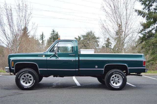1 Owner 1978 Chevy K20 Scottsdale Regular Cab 4x4 Only 106 689 Original Miles For Sale Photos Technical Specificat In 2020 Chevy For Sale Chevy Lifted Chevy Trucks