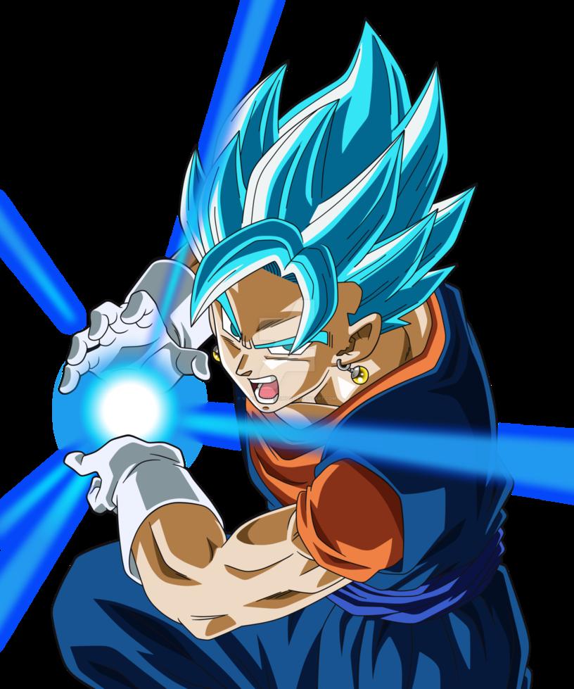 Dragon Ball Super Vegetto Blue By Victormontecinos Anime Dragon Ball Super Dragon Ball Artwork Dragon Ball Super Manga