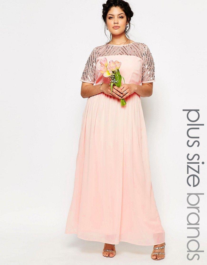 Lovedrobe+Chiffon+Embellished+Maxi+Dress   Bridesmaids Dresses ...