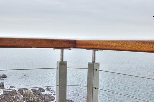 custom balcony railing system