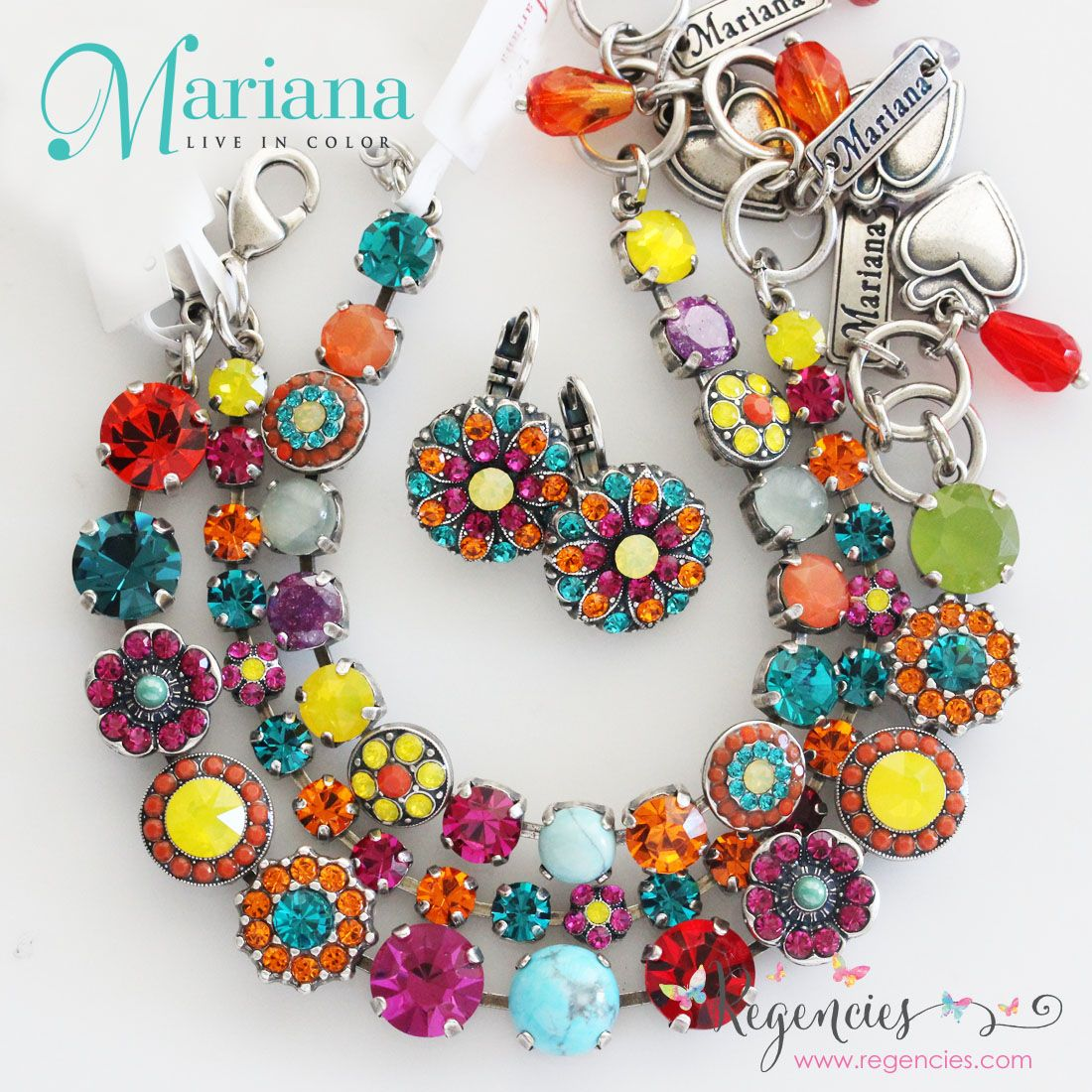 Mariana S Masai Bracelets And Earrings Burst With Hy Colors Guaranteed To Brighten Your Days Available At Regencies