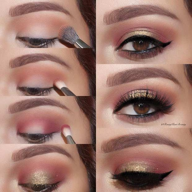21 Easy Step By Step Makeup Tutorials From Instagram Eye Makeup