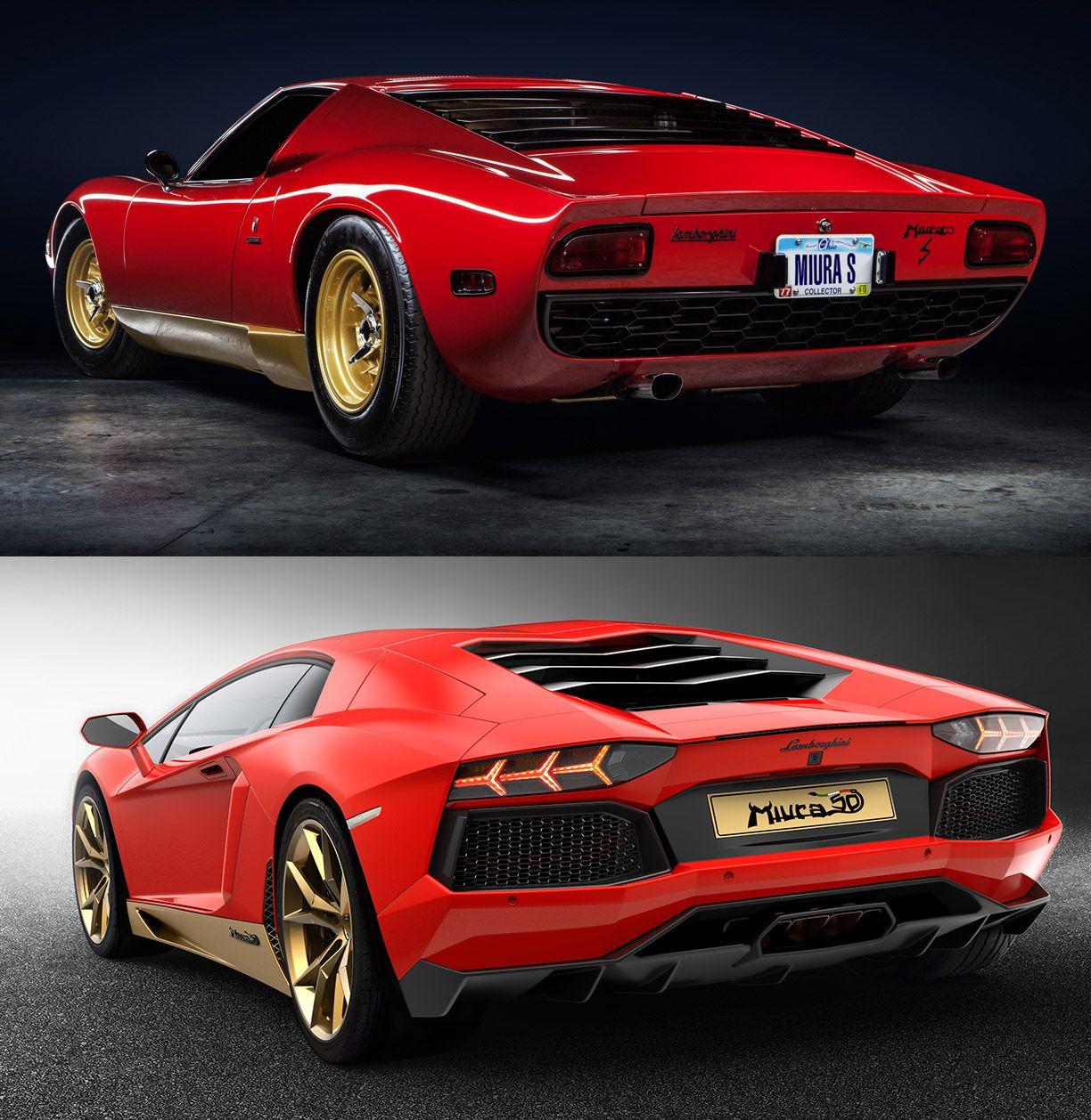 Good Lamborghini Miura Golden Anniversary With Special Edition Aventador Amazing Design