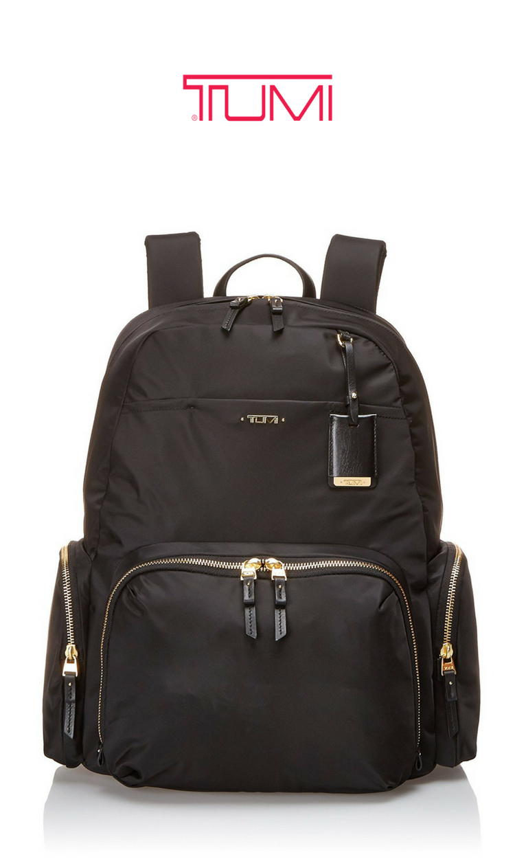 Tumi Women S Voyageur Calais Backpack Black Gold Click For Price And More Backpacks Bags Best Everyday Work