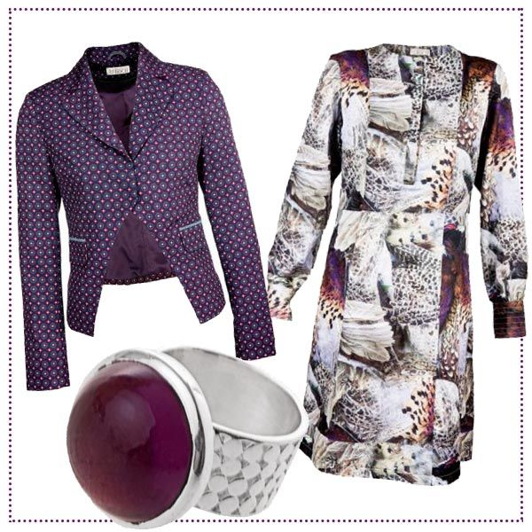 #Violet #Style by Brigitte von Boch #bevonboch