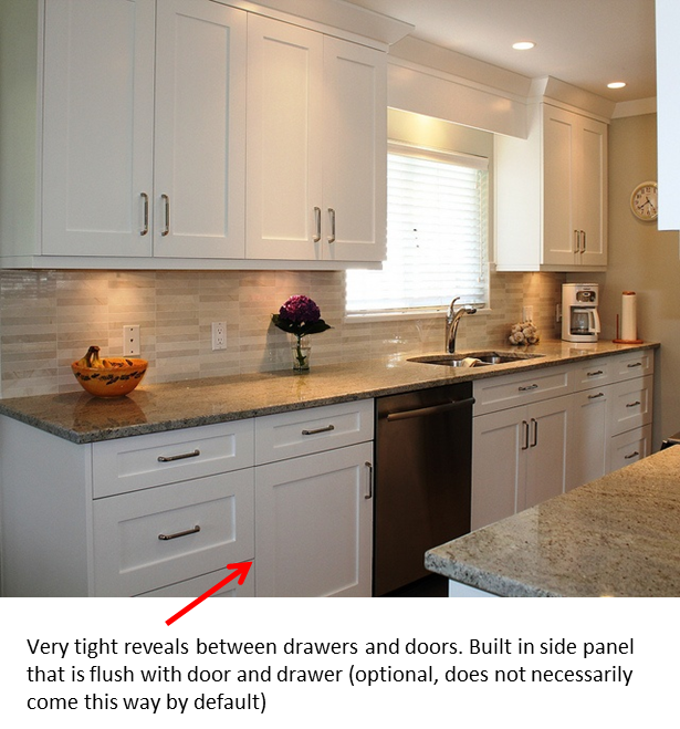 Frameless Kitchen Cabinets: Couleurs, Cuisines