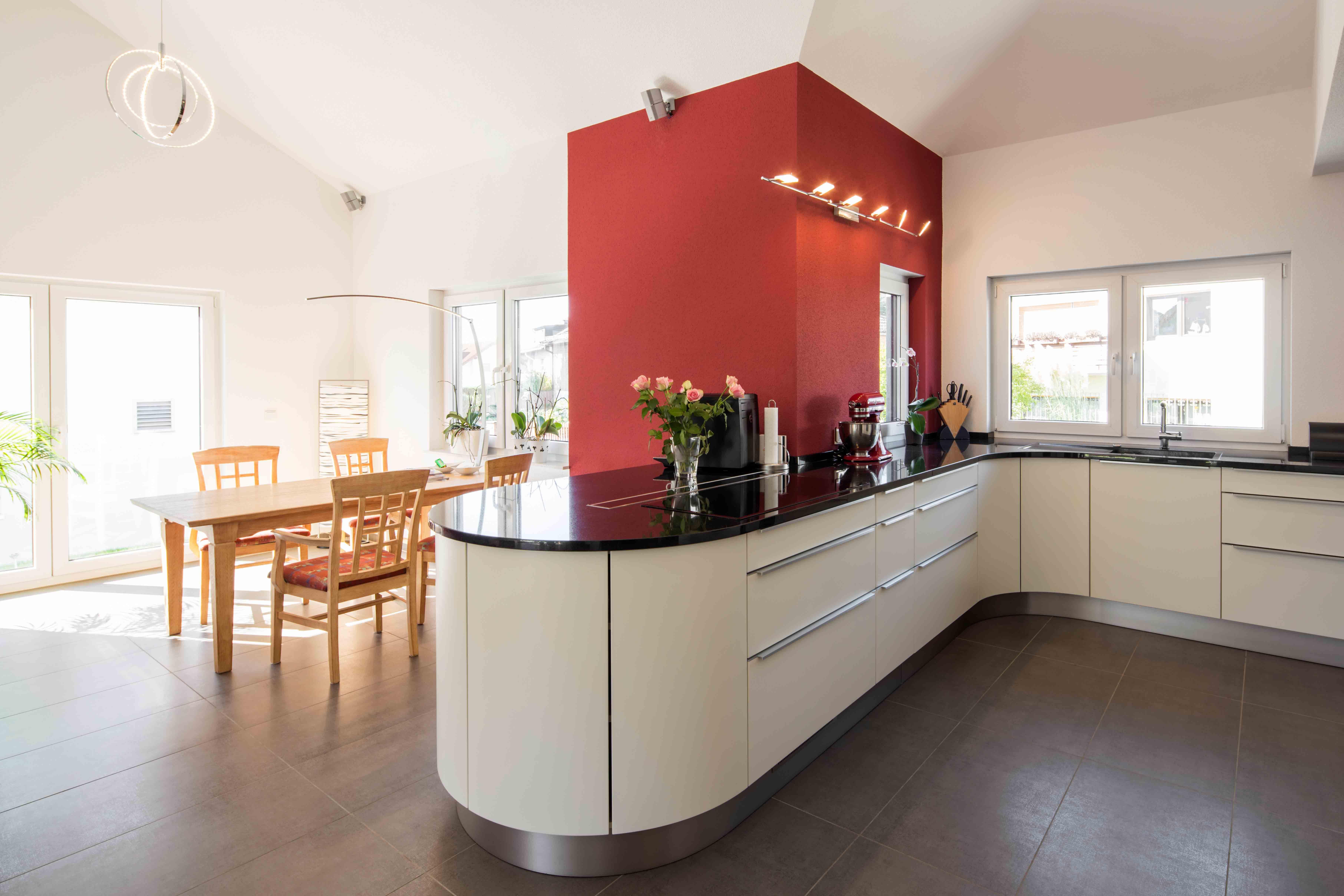 Wohnidee Küche fertighaus wohnidee küche und esszimmer wohnideen küche und