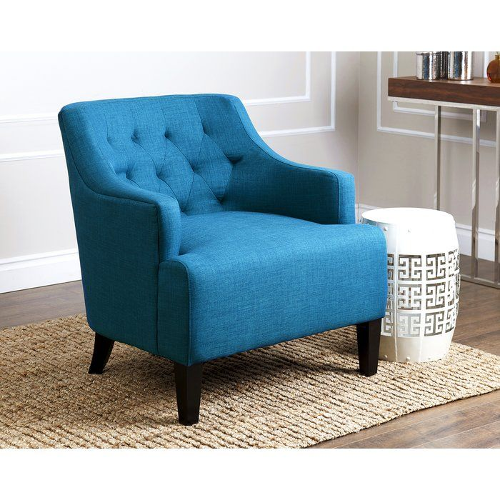 Boone Arm Chair Blue Fabric Armchair Fabric Armchairs