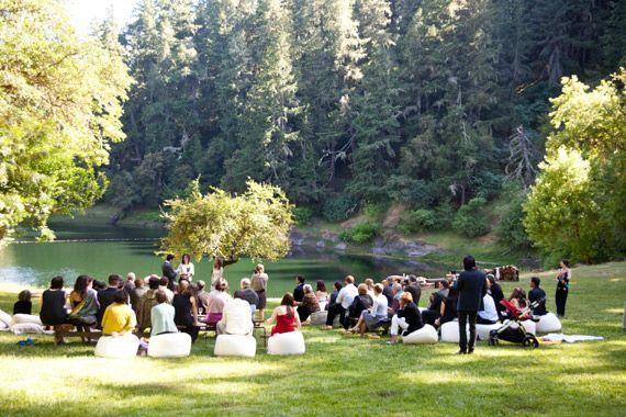 Northern California glamping wedding | Photo by Jen Siska ...