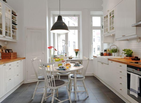 Simple Cozy Kitchen Design Kitchen Design Small White Kitchen Interior White Kitchen Interior Design