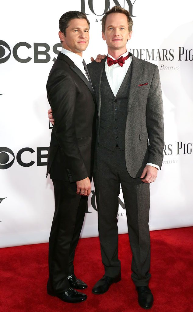 A handsome pair (Neil Patrick Harris and hubby David Burtka) from Same-Sex Celebrity Couples | E! Online