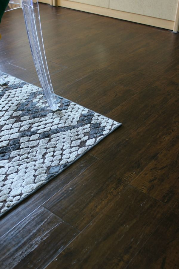 Why We Opted For Nucore Flooring A Luxury Vinyl That Is Waterproof And Can Be Installed Over Many Existing Floors It S Also
