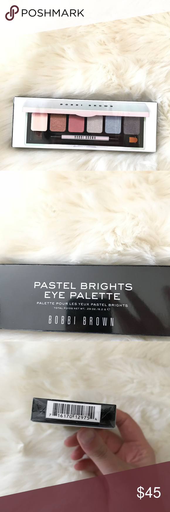 Bobbi Brown Pastel Brights Eye Palette New Makeup With six