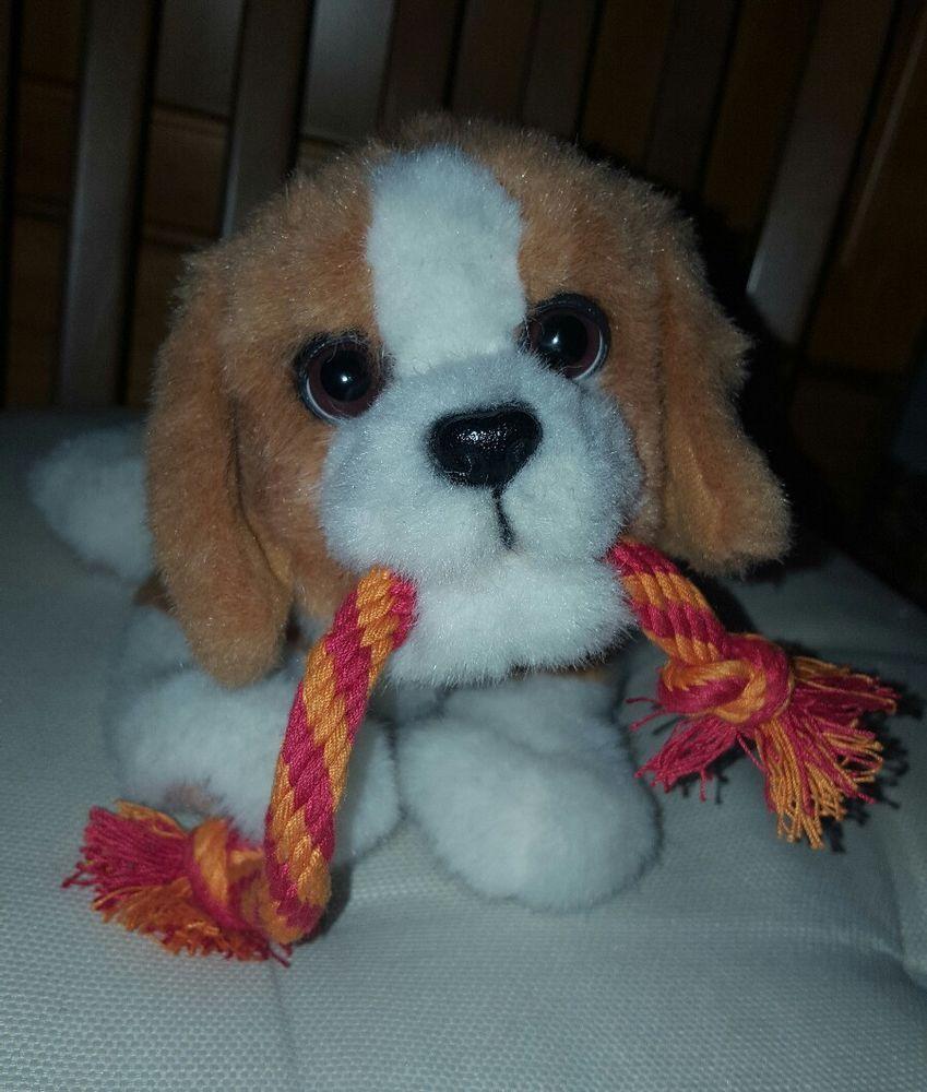 Furreal Beagle Puppy Dog Tugging Pup Hasbro Brown Pups Interactive