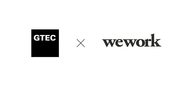 Gtec X Wework Announcing Our Global Partnership To Unlock The Potential Of Entrepreneur Company Logo Tech Company Logos Logos