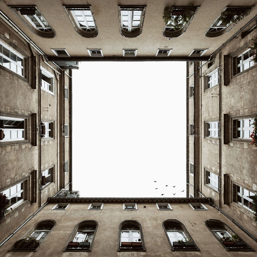 looking up by Fauchier Yann on 500px