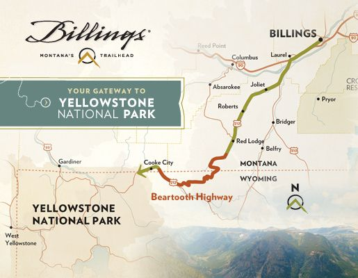 Billings Montana Is Your Gateway To Yellowstone National Park Yellowstone National Park Montana Travel West Yellowstone