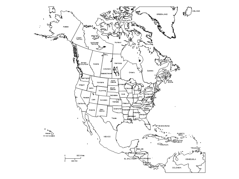 Map Of America Black And White Image result for map of north america black and white | North