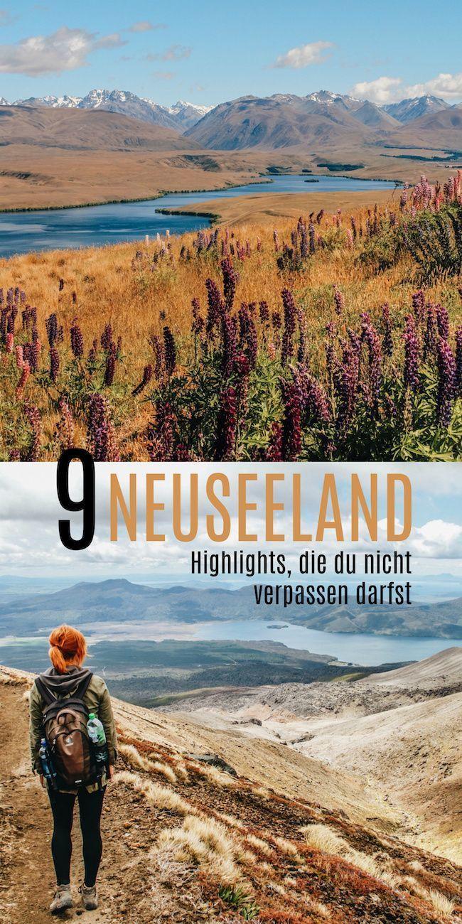 9 aspectos destacados de Nueva Zelanda que no debe perderse